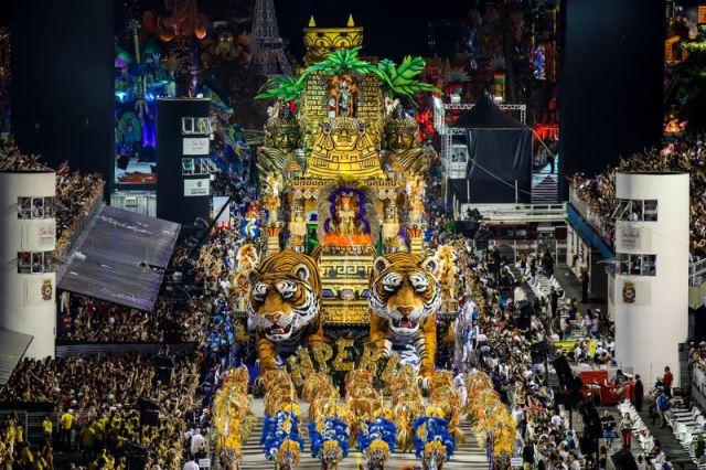 São Paulo -  Escola de Samba Império de Casa Verde, desfila no segundo dia dos desfiles das escolas de samba do Grupo Especial de São Paulo, no Sambódromo do Anhembi (Divulgação/Rafael Neddermeyer/LIGASP/Fotos Públicas)