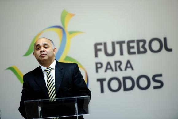 O ministro do Esporte, George Hilton, lança o programa Futebol Para TodosMarcelo CamargoAgência Brasil