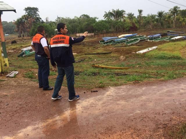 Presidente Figueiredo estiagem Foto Divulgação Defesa Civil