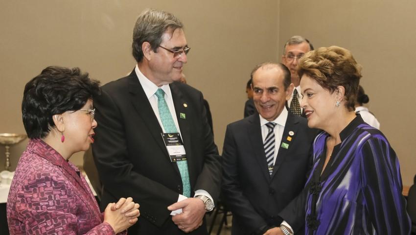 Brasília - Presidenta Dilma Rousseff durante encontro com a Margareth Chan, Diretora-Geral da Organização Mundial da Saúde-OMS (Roberto Stuckert Filho/PR)