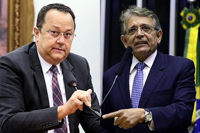 Silas Câmara e Pauderney Avelino miram o Senado (Foto: Antônio Augusto e Nilson Bastian/Câmara dos Deputados)