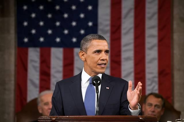 barack-obama Foto Domínio Público