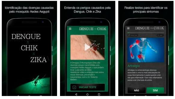 Aplicativos Google Play contra Zika Foto Divulgação