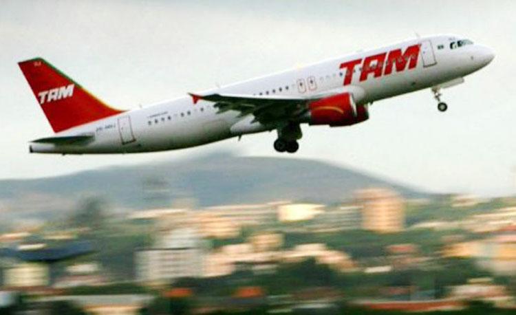 Avião TAM Foto Divulgação