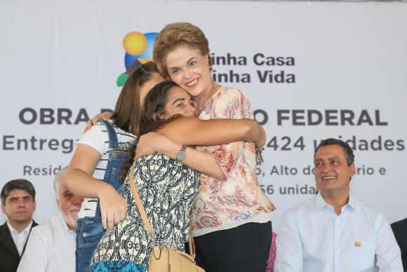 Dilma entrega unidades em Feira de Santana e, simultaneamente, em outros estados Roberto Stuckert FilhoPR