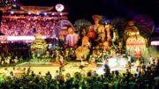Festival de Parintins, a festa mais importante do calendário de eventos do Amazonas (Foto: Divulgação/SEC)