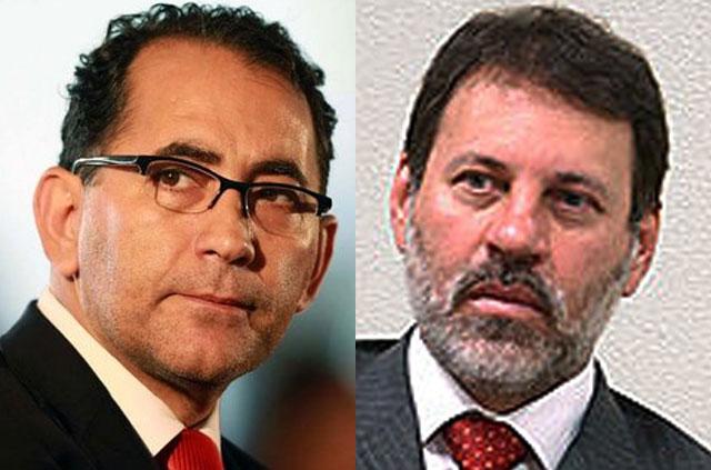 João Paulo Cunha e Delúbio Soares: pena do mensalão está perdoada (Fotos: Divulgação)