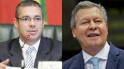 Dobradinha PSD e PSDB nas eleições municipais deste ano, com Josué Neto vice de Arthur Neto (Fotos: Divulgação)