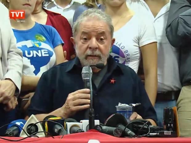 Lula entrevista coletiva Foto Captura de tela