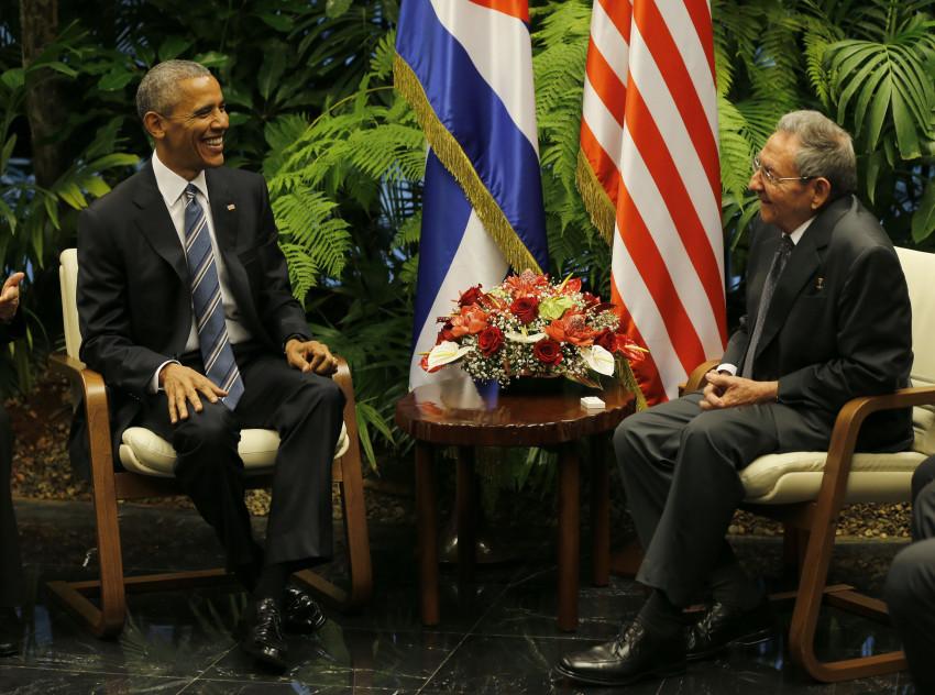 21/03/2016 - Havana, Cuba - Raúl Castro recebe Barack Obama  em Havana. Foto: Cuba Debate