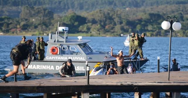 Soldados da Marinha Foto Fábio Rodrigues Pozzebom Agência Brasil