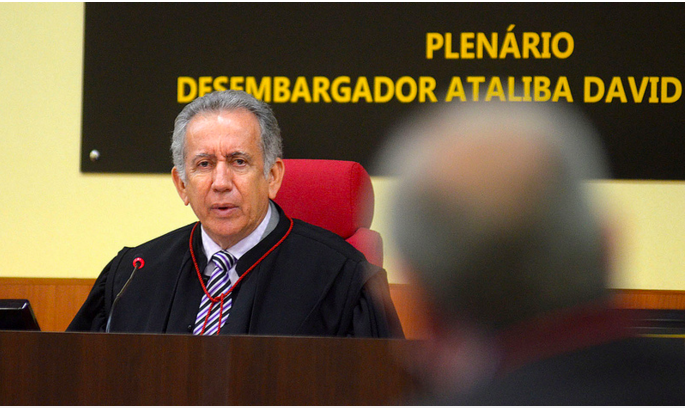 A investigação para saber se Ari Moutinho protegeu Adail Pinheiro iniciou em 2014 (Foto: Divulgação / Tjam)
