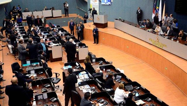 Plenário da Câmara Municipal deve deliberar a LDO nesta quarta-feira, 27 (Foto: Robervaldo Rocha/CMM)