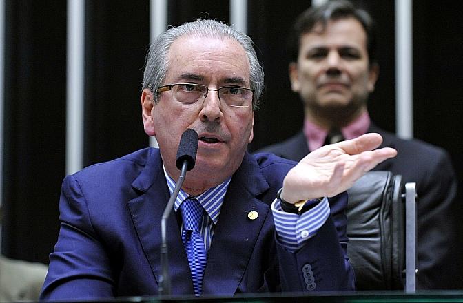 Eduardo Cunha foi o primeiro parlamentar a se tornar réu no processo da Lava Jato (Foto: Luís Macedo/Câmara dos Deputados)