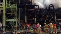 Chega a 24 mortos em explosão no México