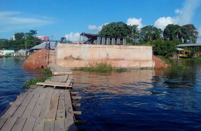 Ponte do Pêra, em Coari, é uma das obras a passar por inspeção (Foto: Amazonas Atual)