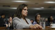 Sandra Braga passou 15 meses no Senado em substituição ao marido Eduardo Braga (Foto: Divulgação)