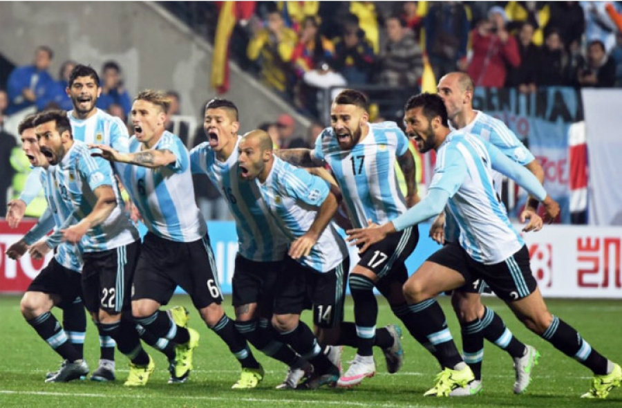 Seleção Argentina lidera o ranking da Fifa Foto Divulgação
