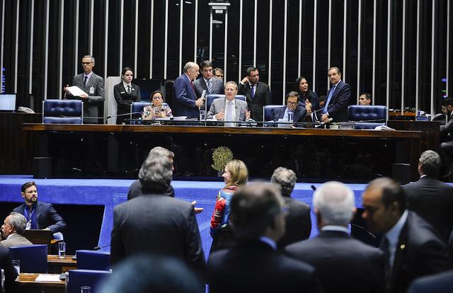Senado Federal vai julgar a admissibilidade do impeachment (Foto: Moreira Mariz/Agência Brasil)