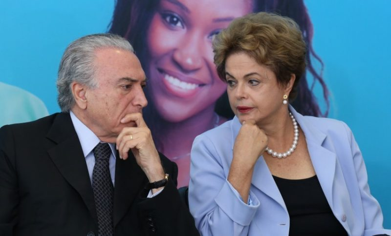 Temer e Dilma Foto Lula MarquesAgência PT
