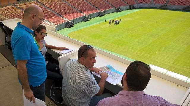 Visita técnica comitê Rio 2016 Divulgação Comitê Manaus 2016