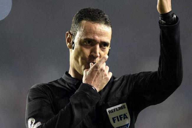 Arbitro Wilmar Roldán Foto  Archivo VANGUARDIALIBERAL