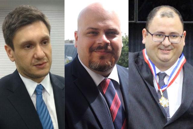 Yuri Dantas, Daniel Nogueira e Marco Aurélio Choy (Fotos: Reprodução)