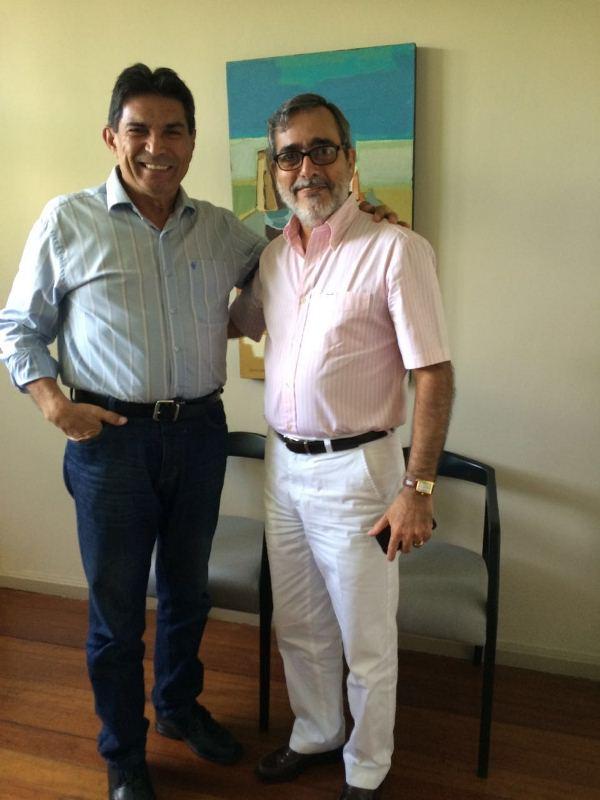 Zezinho Farias e Roberio Braga