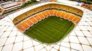 Arena da Amazônia foi mantida para receber Brasil x Colômbia pelas Eliminatórias da opa 2018 (Foto: CBF/Divulgação)