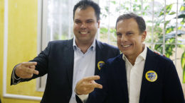 Bruno Covas e João Doria Foto Danilo Serpa