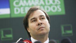 Rodrigo Maia recua e diz que manterá poder do TSE para fiscalizar partidos (Foto: Gustavo Lima/Ag. Câmara)