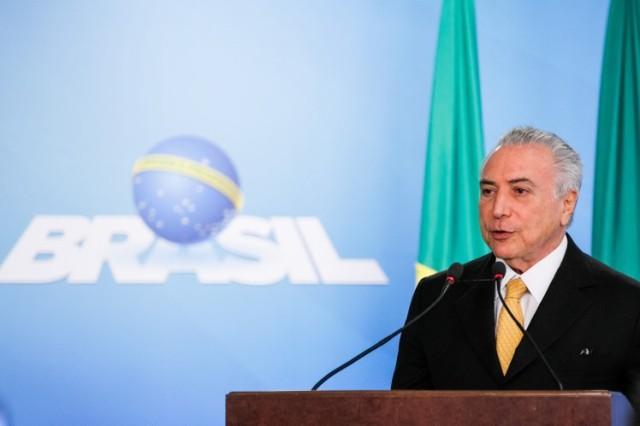 Presidente interino, Michel Temer Foto Beto BarataPR