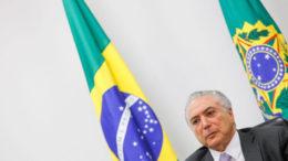 Brasília - DF, 19/07/2016. Presidente em Exercício Michel Temer durante reunião com o Conselho Nacional do Sesi. Foto: Beto Barata/PR