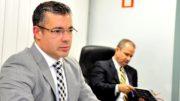 Manaus, AM 14/04/2016 - Entrevista coletiva do presidente da Assembleia Legislativa do Amazonas, deputado Josue Neto (PSD). Com a presença do diretor-geral Wander Motta.  (Foto Alberto César Araújo/Aleam)