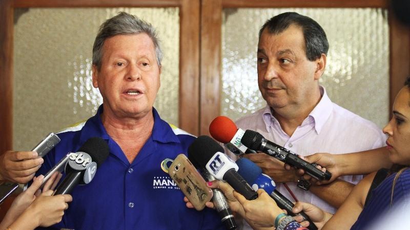 Arthur declara apoio a Omar Aziz na disputa para governador do Amazonas