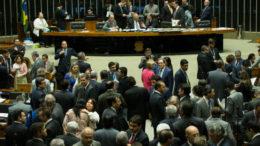 Brasília- D F23-08- 2016  Senador Renan calheiros durante sessão do congresso. Foto Lula Marques/Agência PT