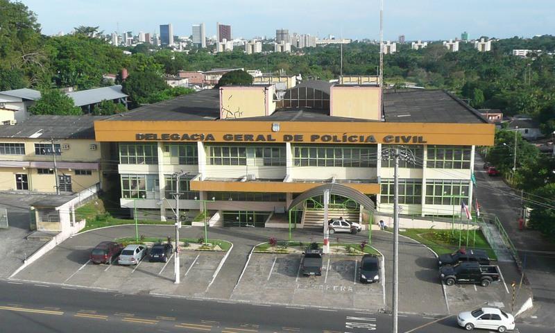 Servidores da Polícia Civil precisavam de autorização da Delegacia Geral para deixar Manaus (Foto: mapio.net/Divulgação)