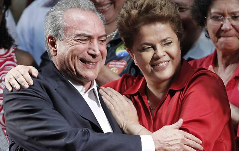 Michel Temer e Dilma Rousseff em campanha. TSE investiga serviços eleitorais (Foto: Divulgação)
