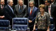 Brasília - A presidenta afastada Dilma Rousseff faz sua defesa diante dos senadores durante sessão de julgamento do impeachment. ( Marcelo Camargo/Agência Brasil)