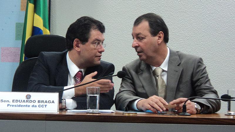 Ministro do STF pede explicações à PGR e à PF no processo que investiga Braga e Omar