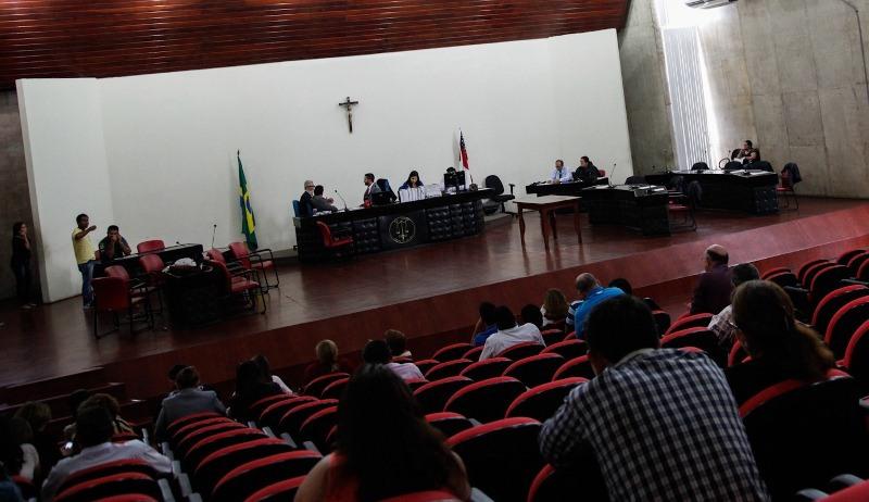 Júri considerou motorista culpado, embora defesa tenha alegado que ele não cometeu o crime (Foto: Raphael Alves/TJAM)