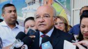 O governador José Melo ganha tempo na Justiça Eleitoral com a troca de ministros (Foto: Valdo Leão/Secom)