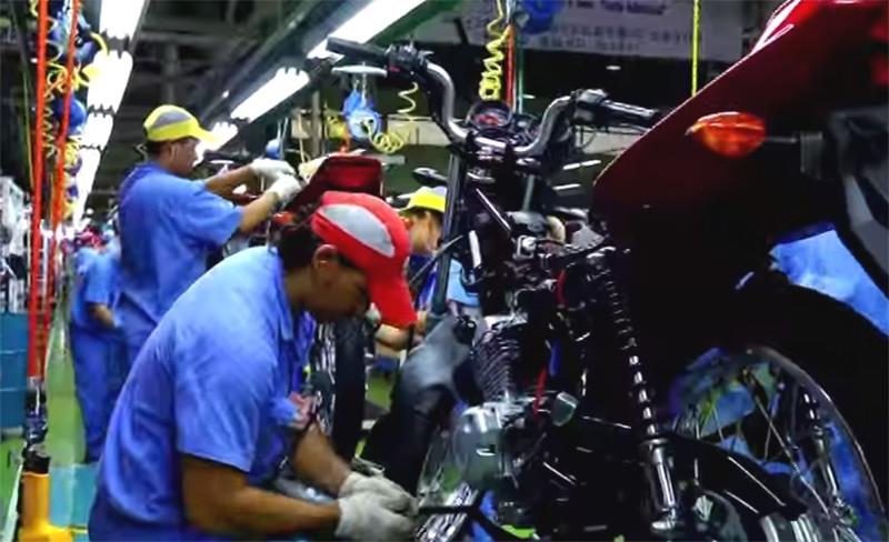 Polo de duas rodas foi um dos mais atingidos pela retração econômica no PIM (Foto: Suframa/Divulgação)