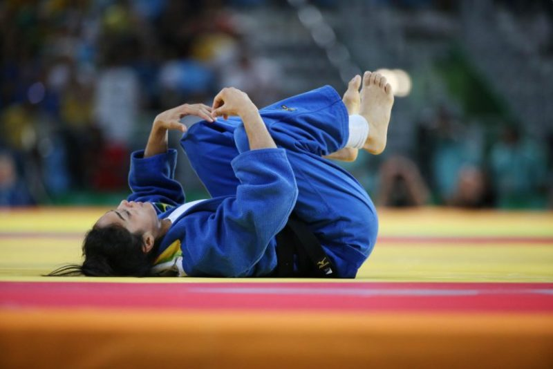 09 de Agosto de 2016 - Rio 2016 -  Judô - Seminifal —  Mariana  Silva  X TRSTENJAK Tina. Foto: Roberto Castro/ Brasil2016