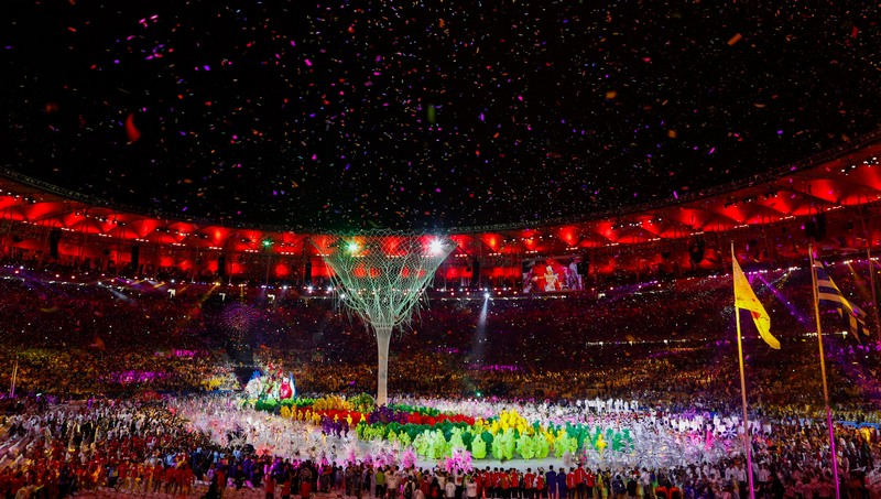 Cerimônia de encerramento da Rio 2016. Brasil se superou, mas ficou abaixo da meta (Foto: Fernando Frazão/ABr)