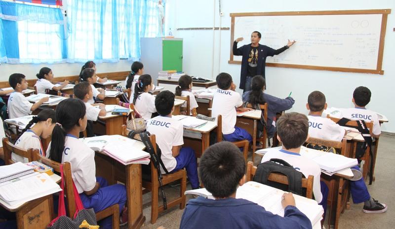 Contratação é imediata para ministrar aulas em diversas disiciplinas (Foto: Eduardo Cavalcante/Asscom Seduc)