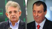 Pauderney Avelino, que foi secretário de Arthur no início da gestão tucana, seguiu o senador Omar Aziz (Fotos: Divulgação)