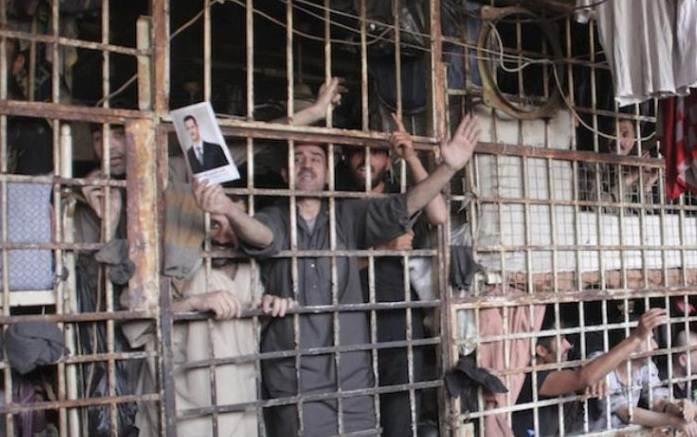 Prisões na Síria Divulgação twitter