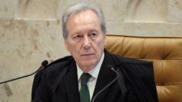 Ricardo Lewandowski rejeitou suspender sessão que julga relatório sobre cassação da presidente Dilma (Foto: Nelson Jr.STF)