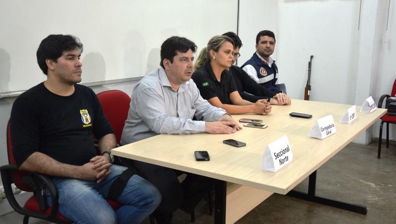 Delegados informaram que armas eram vendidas até por R$ 1,2 mil para criminosos (Foto: SSP/Divulgação)